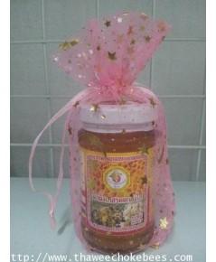 น้ำผึ้งดอกลำไยขนาดบรรจุ 130 กรัม ไม่รวมค่าขนส่ง อยู่ที่บ้านรอรับได้เลย