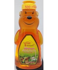 น้ำผึ้งเดือนห้าหมี 500 กรัม  ไม่รวมค่าขนส่ง 10*5*18 cm