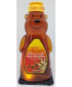 น้ำผึ้งเกสรดอกลำไยหมี 500 กรัม 10x5x18 cm ไม่รวมค่าขนส่ง