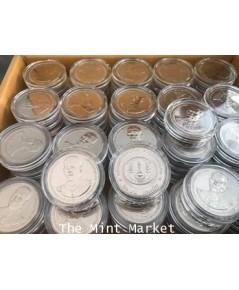 เหรียญกษาปณ์ที่ระลึก 20 บาท พระราชพิธีบรมราชาภิเษก รัชกาลที่ 10 เมื่อวันที่ 4 พฤษภาคม 2562