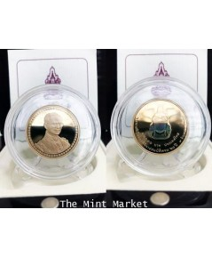 เหรียญกษาปณ์ ทองคำขัดเงา หลังโฮโลแกรม ที่ระลึกพระราชพิธีฉลองสิริราชสมบัติ ร.9 ครองราชย์ครบ 60 ปี