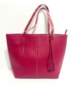 กระเป๋าหนังแท้ tlux  Item  NA00S  สีชมพู