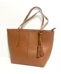 กระเป๋าหนังแท้ tlux  Item  NA00B  สีแทน