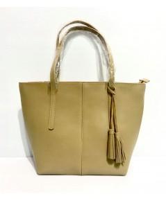 กระเป๋าหนังแท้ tlux  Item  NA00M  สีเขียวมะนาว