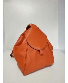 กระเป๋าเป้ หนังวัวแท้ Tlux item CB002L สีส้ม