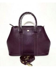 กระเป๋าหนังวัวแท้ Tlux item DQ002N สีม่วง