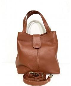กระเป๋าหนังวัวแท้ Tlux item PP00B   สีแทน