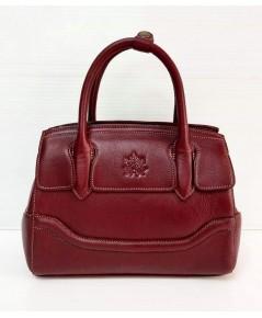 กระเป๋าหนังวัวแท้ Tlux item CX023R  สีแดง