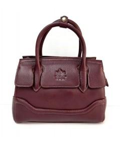 กระเป๋าหนังวัวแท้ Tlux item CX023N  สีม่วง