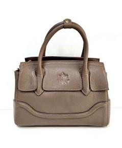 กระเป๋าหนังวัวแท้ Tlux item CX023D  สีเบจ