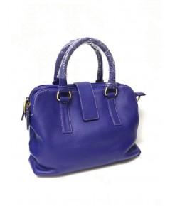 กระเป๋าหนังวัวแท้ Tlux item EP023G  สีน้ำเงิน