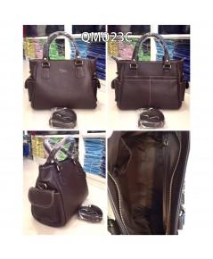 กระเป๋าหนังวัวแท้ Tlux item QM023C
