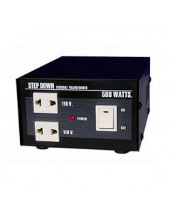 เครื่องลดไฟฟ้าในบ้าน 220 ACV. เป็นไฟฟ้า 110 ACV. 500 Watts