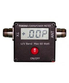 SWR และ WATTS METER ระบบ DIGITAL 100MHz-500MHz และ 2MHz-50MHz