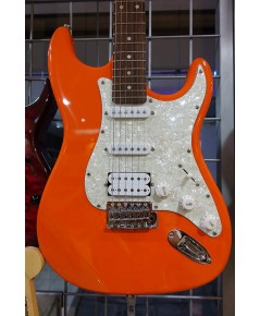 Orange Crush Electric Guitar