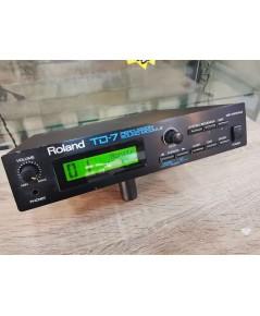Roland TD-7 โมดูลกลองไฟฟ้า 512เสียง/32ชุดกลอง โปรแกรมเสียงได้/10ทริก ซาวด์ดีสมจริง MADE IN JAPAN