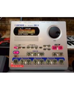 BOSS DR-3 Dr.Rhythm ริทึ่มบอกซ์/กลองไฟฟ้า เสียงดีสมจริง ซาวด์เบสในตัว สภาพใหม่เอี่ยม
