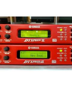 YAMAHA dtxpress II โมดูลกลองไฟฟ้า ทริกกับกลองจริงหรือแป้นยาง ผ่านไมค์หรือเปี๊ยซโซ่(MADE IN JAPAN)
