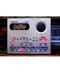 BOSS DR-3 รุ่นประหยัดของ DR-880 เสียงดี ซาวด์กลองยุคใหม่แล้ว สร้างจังหวะง่าย ลูปเป็นเพลงได้ 120เสียง