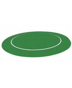 Rubber Foam แบบกลม สีเขียว สำหรับปูโต๊ะโป้กเกอร์/Foam Poker Table Top