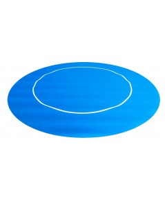 Rubber Foam แบบกลม สีน้ำเงิน สำหรับปูโต๊ะโป้กเกอร์/Foam Poker Table Top