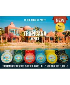 เหรียญคาสิโน ชิพโป๊กเกอร์ 500 เหรียญรุ่น Tropicana Series 13.5g