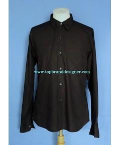 เสื้อเชิ้ต Agnes b Paris Men Used Designer Shirt Black Sz. M