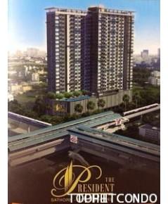 คอนโด The President Sathorn-Ratchapruek ขาย/ให้เช่าห้องแบบ 1 ห้องนอน ขนาด 34.68 ตร.ม. ชั้น 6