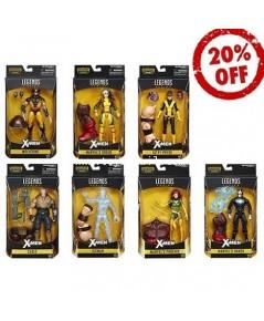 MARVEL LEGENDS : X-MEN JUGGERNAUT SERIES สินค้าครบชุด 7 กล่อง [2]