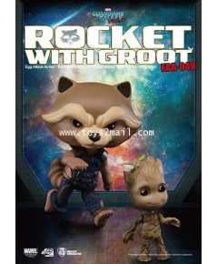 Kids Logic : Egg Attack Action EAA-049 MARVEL GUARDIANS OF THE GALAXY Vol.2 : ROCKET + GROOT [SOLD]