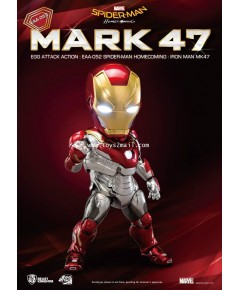 Beast Kingdom : Egg Attack Action EAA-052 SPIDER-MAN : HOMECOMING : IRON MAN MK 47 [SOLD OUT]
