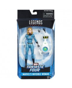 MARVEL LEGENDS : FANTASTIC FOUR : THE INVISIBLE WOMAN HASBRO EXCLUSIVE [SOLD OUT]