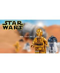 LEGO STAR WARS : STAR WARS 2016 : MINI FIGURE : R2D2 + C3PO [SET] [1]