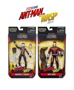 MARVEL LEGENDS : ANT-MAN AND THE WASP MOVIE Ver.  คู่หูแอนท์แมน แอนด์ เดอะ ว๊าฟ [SOLD OUT]