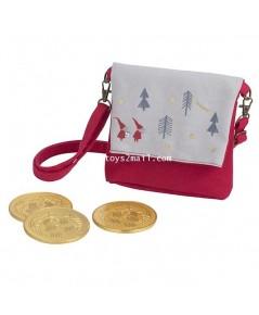 STARBUCKS : 2018 CHRISTMAS GOLD COIN CHOCOLATE BAG (RED) STARBUCKS Taiwan กระเป๋าคริสมาสเหรียญทอง[1]