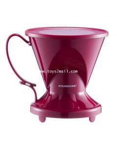 [ล้างสต๊อก] STARBUCKS : CLEVER COFFEE DRIPPER [RED] ที่ดริปกาแฟสีแดง จาก STARBUCKS TAIWAN [2]