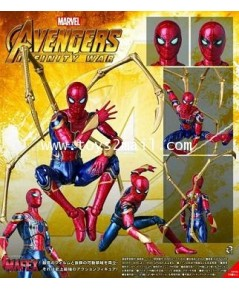 MARVEL : MAFEX No.081 AVENGERS : IRON SPIDER (INFINITY WAR Ver.) ล๊อตญี่ปุ่นแท้ 100 [2]