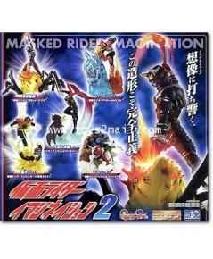 Bandai Gashapon : HG กาจาปอง : MASKED RIDER IMAGINATION PART 2 ครบชุด 5 แบบ ของใหม่ไม่แกะ หายาก [1]