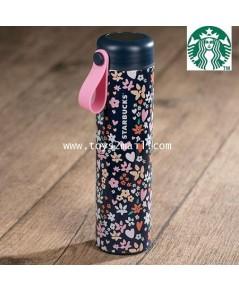STARBUCKS : 2018 Starbucks Taiwan SS Flower And Heart Tumbler 16oz ของแท้ 100 จากไต้หวัน [RARE] [1]