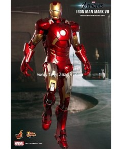 HOT TOYS : 1/6 THE AVENGERS : IRON MAN Mk 7 Limited Edition 12-inch Collectible Figure [RARE] [1]