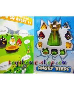 ของเล่นแองจี้เบิร์ดชุดใหญ่ (ส่งฟรี) ของเล่น Angry Birds