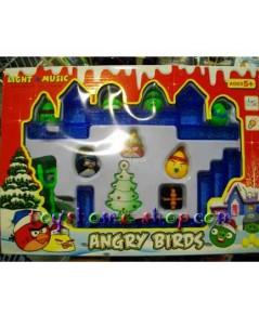 ของเล่นแองจี้เบิร์ดชุดเล็ก (ของเล่น Angry Birds) ชุด คริสมาสต์