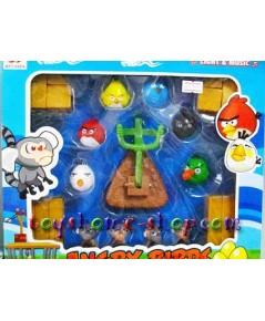 ของเล่นแองจี้เบิร์ดชุดเล็ก (ของเล่น Angry Birds) ชุด ลิง