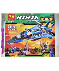 เลโก้จีน เลโก้จีนราคาถูก รุ่น เลโก้นินจาโก 9756 ภาค 3 ยานนินจาสีน้ำเงิน