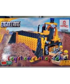 เลโก้จีน รถก่อสร้างรถไถดิน 300 ชิ้น(ส่งฟรี)