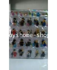 ตัวต่อเลโก้ เลโก้จีนเลโก้คน 20 ตัว/แผง (BL-001)