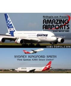 Sydney Kingsford Smith First Qantas A380 Down Under
