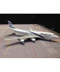INFLIGHT 1:200 El Al 747-400 4X-ELC IF7441216