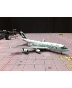 JC WINGS 1:400 Cathay 747-400 B-HUI Nick  Simon 400201