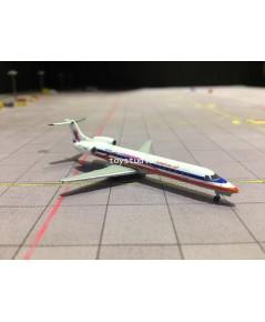 JC WINGS 1:400 American Eagle ERJ-145LR N691AE Pink Ribbon XX4016
